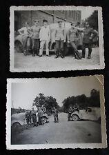 2 Original Fotos Polizei Panzer Fahrzeug 30iger Jahre
