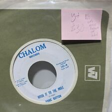 Panic Button Hitch It To The Mule- Chalom 101 VG+ Rare Variant