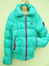 Miss Nickelson Val Di Fassa - Green Padded / Puffa Zipped Jacket - size XS