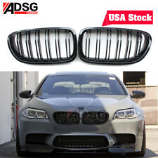 For BMW 5 Series F10 F11 Glossy Black Front Grille Grill Kidney 528i USA Stock