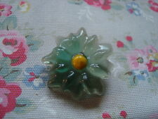 Vintage Lucite / Floral Push Pin~Bulletin Board/Craft Room/Kitchen/Office