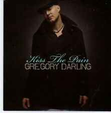 (BG338) Gregory Darling, Kiss The Pain - 2009 DJ CD