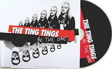 THE TING TINGS CD Be The One Bimbo Jones Club Remix / Single edit UK 2 TRACK New