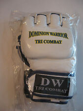 NEW DOMINION WARRIOR TRI COMBAT BOXING/FIGHTING GLOVES - SIZE L  - TUB G