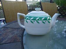 Vintage Signed Moriyama Mori-Machi Teapot Hand Painted-Japan