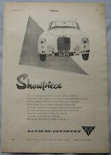 1956 Alvis Original advert