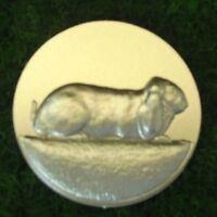 für Medaillen Pokale Pokal Widder Hase 100 Widder Kaninchen Embleme gold 25mm Pokale & Preise