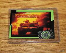 Rare & Collectible 1993 TEAM BLOCKBUSTER #33 Super Battletank Game - Near Mint