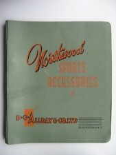 Vintage 1930's Northwood Sports & Games accessories catalogue