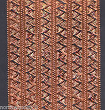 COPPER PENNANT BORDER PAPER GERMAN SCRAP ART DRESDEN  EDGING TRIM METALLIC CARDS