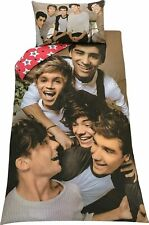 Official One Direction 'CHAOS' Single duvet Cover Set 1D Bedding