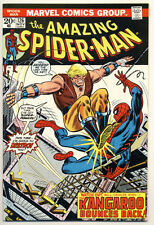 AMAZING SPIDER-MAN #126 VG, Subscription crease, Marvel Comics 1973