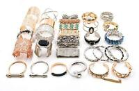 Wholesale lots 30pcs Mix Style Genuine Handmade Leather Cuff  Bracelet Wristband