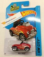 Pedal Driver *  #74 RED * 2015 Hot Wheels * New Case C * N139