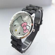 Hello Kitty Silicone Wrist band Watch ~ NEW