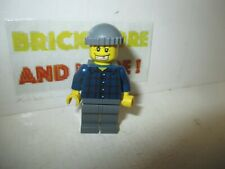 Lego - Minifigures - City - Police Bandit  Plaid Button Shirt 7033  wc002