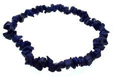Lapis Lazuli Gemstone Chip Crystal Bracelet