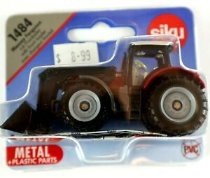 FRONTLADER with FRONT LOADER Diecast Metal Plastic Parts Siku 1484 MIT PVC FREE