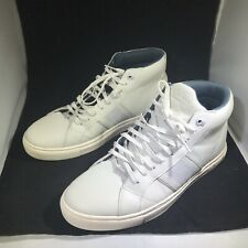 Ted Baker Mens Cruuw White Leather Fashion Sneaker Size 10