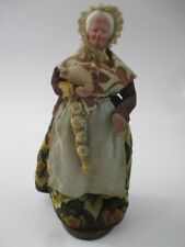 French Provencal Santon Habillés Lady Cook Figurine Made in France