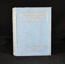 1928 Rowland Ward's Records of Big Game Ninth Ed J G Dollman J B Burlace Sign...