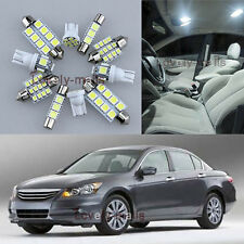 NEWEST White Light Interior LED Package 10x for Honda ACCORD 2003-2011 L7