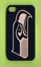 SEATTLE SEAHAWKS 1 Piece Glossy Case / Cover iPhone 4 / 4S (Design 15)+ Stylus