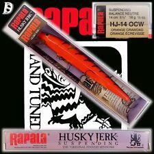 Vintage Rapala Husky Jerk 14cm OCW wurde eingestellt NEU&OVP Made in Finnland