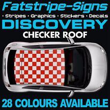 LAND Rover Discovery verifica della grafica TETTO Strisce Adesivi Decalcomanie 1 2 3 4 V8 D