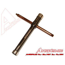 Answer-RC Multi Tool - 8mm Glow plug, 10mm Clutch Nut, 3+5mm hex ANSCSTL03