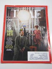 Time Magazine- The Last Days of Man Men: Televison History- April 7, 2014