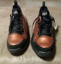 Men's 13 Adidas Q16015 SM Damian Lillard Super 64 Basketball Shoes Copper Black
