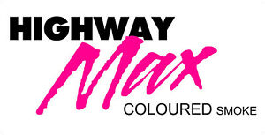 """Highway Max Pink Coloured Smoke Tyre 185/60R14"""" Pink M5"""