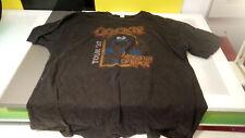 Cookie Monster T Shirts lot of 2 decent condition Sesame Street XXL Rock Tour 83