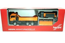 """Herpa MAN TGS M 6x6 Winterdienstfahrzeug  """"Kommunal"""" Neu/OVP, F43"""