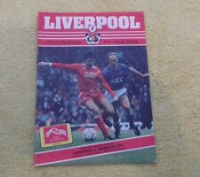 174) Liverpool v Norwich City division one 21-11-1987