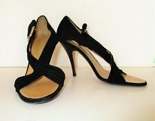 Giuseppe Zanotti Design Heels Shoes Sandals 37 Women black suede