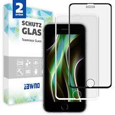 2x 11D Glas für iPhone 6 7 8 Plus Panzerfolie Display Schutzfolie Hartglas 9H
