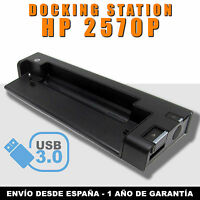 Estación de Acoplamiento HP 2570P USB 3.0 (Docking Station) HSTNN-I16