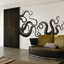 Octopus Tentacle Wall Decal Motivation Sea Monster Squid Room Vinyl Mural Decor