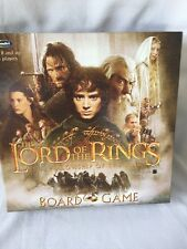 2127) Lord of the Rings Fellowship of the Ring Board Game Open NEVER PLAYED