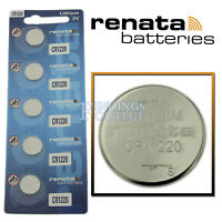 CR1220 Renata Watch Battery 3V Lithium Battery Official Distributor