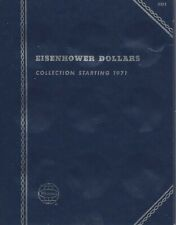 Eisenhower Dollars 1971-1976 Whitman Folder  with 19 Unmarked Slots