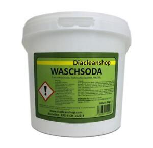 WaschSoda Pulver - 5kg - reine Soda kalzinierte Soda Pulver