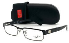 Ray Ban RX6169 2502  Polished Black Gunmetal 52mm Eyeglasses RB6169