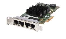NEW Intel i350-T4 1Gb/s Quad Port Low Profile Network Card T34F4