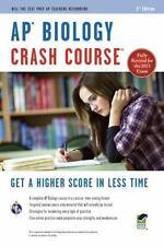 AP Biology Crash Course (Paperback or Softback)