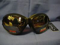 ELIMINATOR Goggles - biker motorcycle sports cycling - Copper Driving Lense