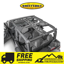 Smittybilt SRC 7 Piece Cage Kit 07-10 Jeep Wrangler JK 2 Door 76901 Black