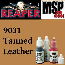 TANNED LEATHER 9031 - MSP core 15ml 1/2oz paint pot peinture REAPER MINIATURE